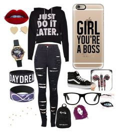 """Untitled #18"" by its-allright ❤ liked on Polyvore featuring uroda, 2LUV, Vans, Casetify, Olivia Burton i Kate Spade"