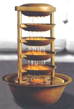 Supposedly a DIY fountain.  Looks like it requires power tools.
