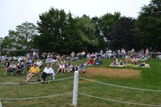 TD Bank Summer Concert Series featuring Tripping Lily in Chatham, July 10th, 2013.