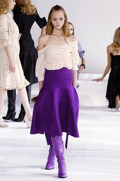 Givenchy Spring 2006 Ready-to-Wear Fashion Show - Mariacarla Boscono