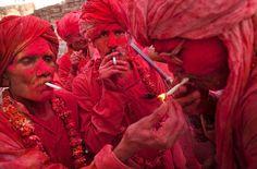 festival holi en India!