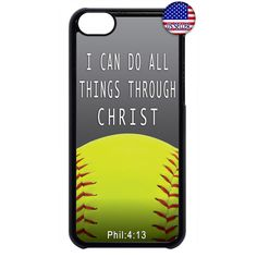 Details about softball bible verse quote christian black/white case cover for apple ipod 4 5 6 Softball Memes, Softball Workouts, Softball Problems, Softball Crafts, Softball Shirts, Girls Softball, Fastpitch Softball, Softball Players, Softball Stuff