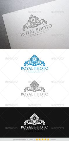 Royal Photo — Vector EPS #designer #crest • Available here → https://graphicriver.net/item/royal-photo/6331022?ref=pxcr