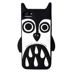 Ochranný kryt / pouzdro / Silikonový kryt Sova pro iPhone 5/5s by Marc Jacobs  #AllCases.cz #kryt #case #sleva #iphone #iphone5 #iphone5s