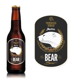 Bear Beer. Did you know that in a study - people were more likely to select wines with an animal on the label?