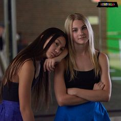 Devyn and Alyssa Teen Shows, Kids Shows, Backstage Disney, Cool Dance, Disney Channel Stars, She Wolf, Disney Shows, Supergirl And Flash, Bff Goals
