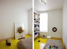 Katie Lockhart Interior Design, Yellow Wood Floors
