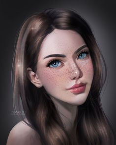 Girl Practice by Lynarity on DeviantArt Girl Practice by Lynariti on DeviantArt Digital Art Anime, Digital Art Fantasy, Digital Art Girl, Digital Portrait, Portrait Art, Girl Portraits, Drawing Portraits, Cartoon Kunst, Cartoon Art