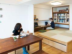 リフォーム・リノベーション会社:株式会社 トラスト「LDKと一体感のある畳スペース」