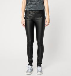 #leather #jeans #trouser #stretch #skinny
