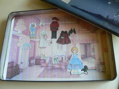 Having Fun at Home: Magnetic Printable Paper Dolls [copy of dolls in Jan's stuff--jgh]