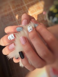 My new nails😻💫💖
