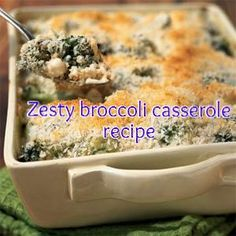Zesty Broccoli Casserole Recipe