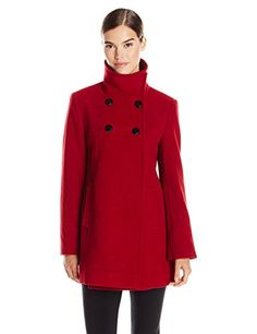 Double-Breasted Plush Coat | Wondering what to wear in Paris in Winter? We've compiled our readers' top tips to help you prepare for the trip of a lifetime. Plus, they'll help you travel carry-on only even with cold weather. Keep reading to learn more! | travelfashiongirl.com