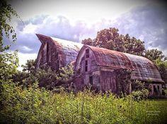 farm, barn, landscape