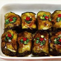 가지요리 _ 쇠고기 가지롤 레시피! 여름 도시락 반찬 만들기 : 네이버 포스트 Korean Dishes, Korean Food, Vegetarian Recipes, Cooking Recipes, Healthy Recipes, Prawn Dishes, K Food, Asian Recipes, Ethnic Recipes