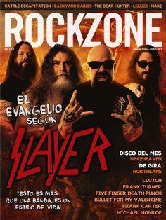 #Rockzone Magazine 118. El evangelio según #Slayer.