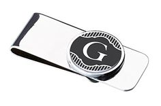 Lillian Rose Monogrammed G Money Clip. Other letters available too. Great gift for grooms, groomsman & dads.