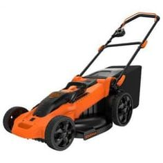 Black and Decker Power Tools Electric Push Mower - Seven height settings mean this Black and Decker Power Tools Electric Push Mower allows you to customize your lawn. This push mower has handy carrying. Best Lawn Mower, Best Riding Lawn Mower, Electric Mower, Cordless Lawn Mower, V Max, Walk Behind, Best Black, Lawn Care, Lawn And Garden