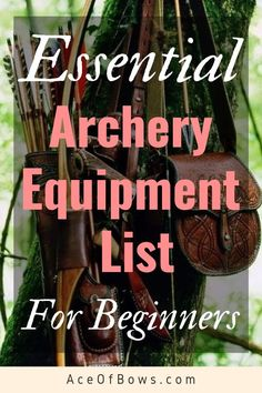 Essential Archery Equipment List For Beginners that will go over all the basic archery gear a new archer needs to have! Read it now! Survival Weapons, Survival Prepping, Survival Gear, Survival Skills, Outdoor Survival, Survival Quotes, Emergency Preparedness, Emergency Preparation, Survival Supplies