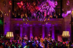 real wedding photo by roey yohai studios new york city wedding cipriani 25 broadway live band performing purple lighting Wedding News, Wedding Music, Wedding Advice, Wedding Photos, Unique Weddings, Real Weddings, Wedding Playlist, Bouquet Toss, Wedding Timeline