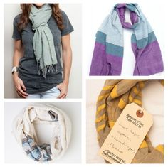 fashionABLE scarves! Great scarves and a great way to give back.  #coolholiday