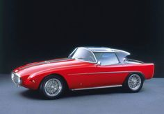 1954 Vignale Fiat 8V Coupe Demon Rouge Michelotti