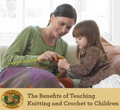 Teaching Kids to #Crochet and #Knit: Why Waldorf Schools Incorporate Crafting into their Curriculum @lionbrandyarn