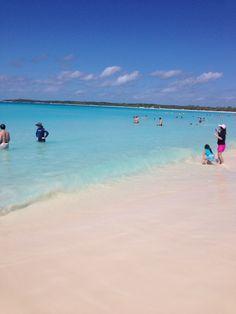 cay moon beach in Nude half