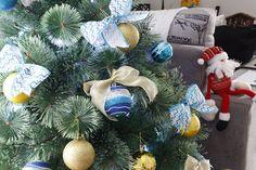 Decoração de Natal do apê   Nossa primeira árvore de Natal