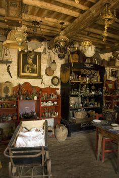 """ ~ Antique shop in Zaharo - Ilia ~  ""  photo by Thali"