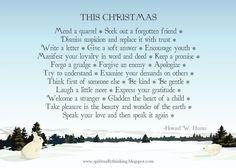....and Spiritually Speaking: Christmas