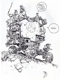 Ian McQue Sketches On Twitter | sketchbooks