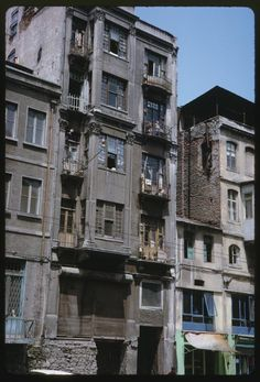 Istanbul City, Urban Architecture, Historical Pictures, Abandoned Buildings, History, World, Places, Photography, Ottomans