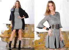 Cristinaeffe abbigliamento autunno inverno 2014 2015 presenta il jeans in felpa CristinaEffe 2014 2015