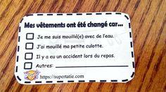 Coupon pour les petits dégâts Change, Boarding Pass, Coupon, Teaching Tools, Management, Coupons