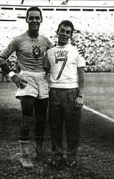 Sport Club Corinthians Paulista - Gylmar dos Santos Neves e Sílvio Luiz