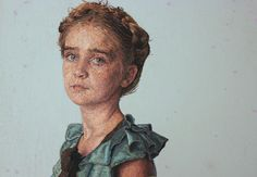 Behind the Scenes With Cayce Zavaglia and Her Astonishingly Lifelike Embroidery Portraits
