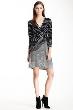 Adele Wrap Dress by BCBGMAXAZRIA on @HauteLook