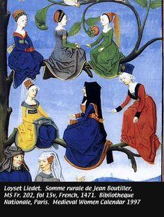 1471- Loyset Liedet. Somme rurale de Jean Boutiller, Bibliotheque Nationale, Paris