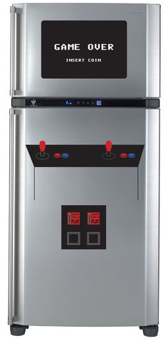 Turn your fridge into a vintage arcade cabinet with decals. $49.99, via Etsy.