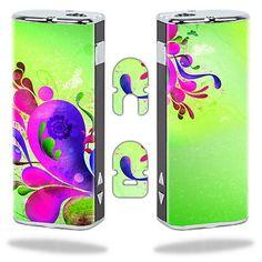Skin Decal Wrap for Eleaf iStick 20W vapor mod vape sticker Pastel Flourishes