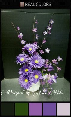 Spring arrangement by Julia Nutu at Michaels Store Cambridge ON