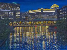 atlasgalleries art_work Lake Street Bridge Impression