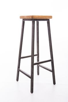 Loft Barstool Backrest Cafe Restaurant Design