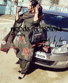Designer Punjabi Suits Patiala, Latest Punjabi Suits, Punjabi Suits Party Wear, Punjabi Suits Designer Boutique, Boutique Suits, Indian Designer Suits, Designer Wear, Embroidery On Clothes, Embroidery Fashion