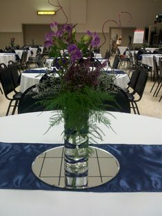 center piece... use different flowers