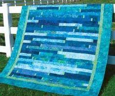 ocean strip quilt - Bing Images