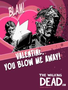: ) The Walking Dead Valentine's Day : )
