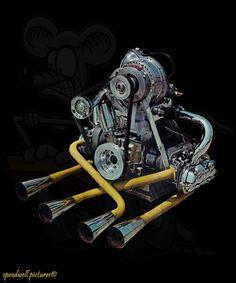mad supercharged bug engine